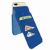 Piel Frama 765 Blue Crocodile iMagnumCards Leather Case for Apple iPhone 7 Plus