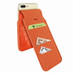 Piel Frama 765 Orange Crocodile iMagnumCards Leather Case for Apple iPhone 7 Plus