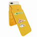 Piel Frama 765 Yellow Crocodile iMagnumCards Leather Case for Apple iPhone 7 Plus