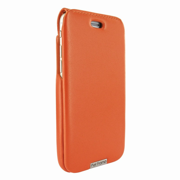 Piel Frama 770 Orange UltraSliMagnum Leather Case for Apple iPhone 7