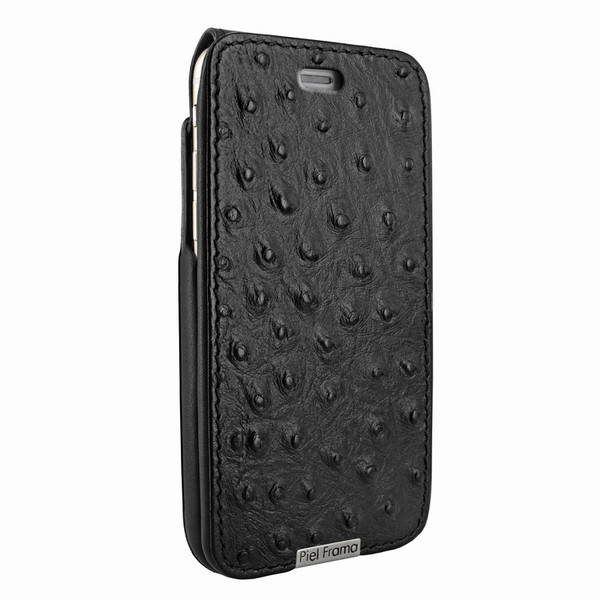 Piel Frama 770 Black Ostrich UltraSliMagnum Leather Case for Apple iPhone 7