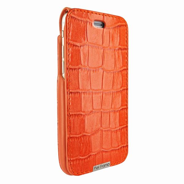 Piel Frama 771 Orange Crocodile UltraSliMagnum Leather Case for Apple iPhone 7 Plus