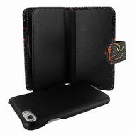 Piel Frama 764 Black Nspire WalletMagnum Leather Case for Apple iPhone 7