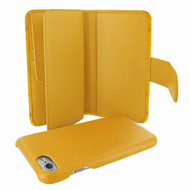 Piel Frama 764 Yellow Crocodile WalletMagnum Leather Case for Apple iPhone 7