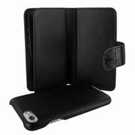 Piel Frama 764 Black Wild Crocodile WalletMagnum Leather Case for Apple iPhone 7