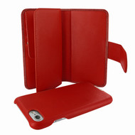 Piel Frama 764 Red Wild Crocodile WalletMagnum Leather Case for Apple iPhone 7
