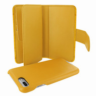 Piel Frama 769 Yellow Crocodile WalletMagnum Leather Case for Apple iPhone 7 Plus