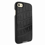 Piel Frama 763 Black Wild Crocodile FramaSlimGrip Leather Case for Apple iPhone 7