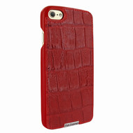 Piel Frama 763 Red Wild Crocodile FramaSlimGrip Leather Case for Apple iPhone 7