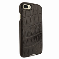Piel Frama 768 Brown Wild Crocodile FramaSlimGrip Leather Case for Apple iPhone 7 Plus