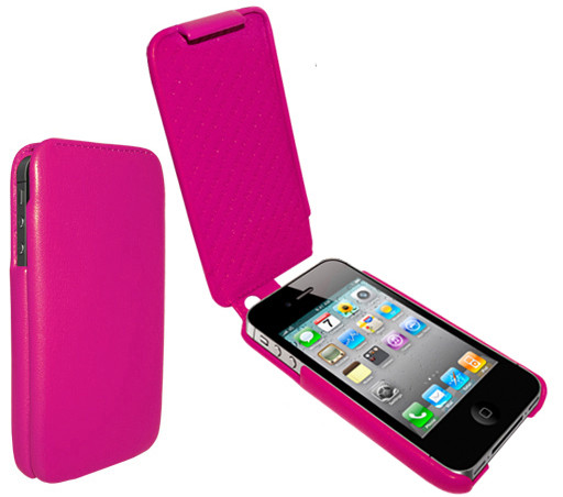 Piel Frama 523 iMagnum Pink Leather Case Ver. 2 for Apple iPhone 4 / 4S