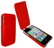Piel Frama 523 iMagnum Red Leather Case Ver. 2 for Apple iPhone 4 / 4S