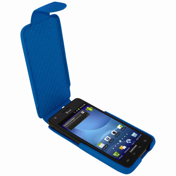 Piel Frama 544 iMagnum Blue Leather Case for Samsung Galaxy S II (AT&T)