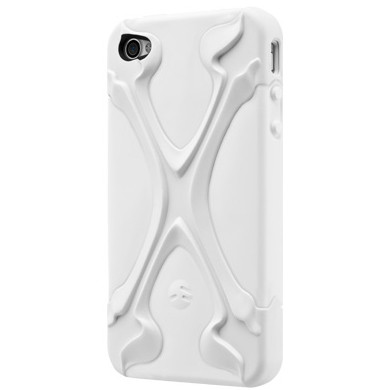 SwitchEasy White CapsuleRebelX Hybrid Case for Apple iPhone 4 / 4S -126610