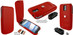 Piel Frama 581 iMagnum Red Leather Case for Samsung Galaxy S II (T-Mobile)