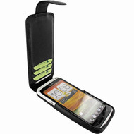 Piel Frama 584 Black Leather Hybrid Case for HTC One X