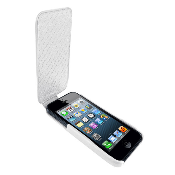 Piel Frama 594 iMagnum White Leather Case for Apple iPhone 5 / 5S / SE