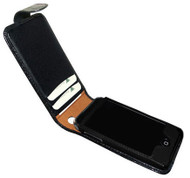 Piel Frama 983 Black Crocodile Pattern Leather Case for Apple iPhone 3G / 3GS