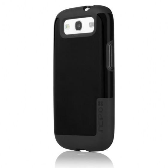 Incipio Black FAXION Sllim Flexible Hard Shell Case for Samsung Galaxy S III