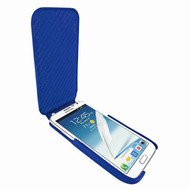 Piel Frama iMagnum Blue Leather Case for Samsung Galaxy Note 2