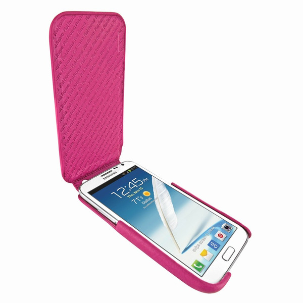 Piel Frama iMagnum Pink Leather Case for Samsung Galaxy Note 2