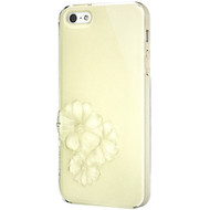 SwitchEasy Sparkling Yellow Dahlia Light Case for Apple iPhone 5