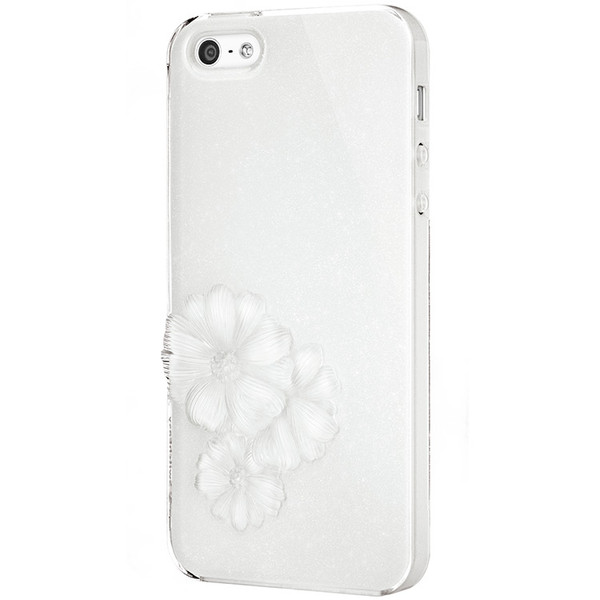 SwitchEasy Sparkling White Dahlia Light Case for Apple iPhone 5