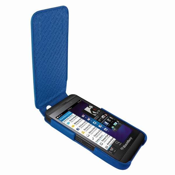 Piel Frama 615 iMagnum Blue Leather Case for BlackBerry Z10