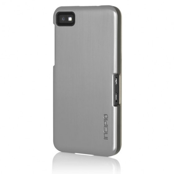 Incipio Silver Feather SHINE Ultra Thin Shell with Aluminum Finish for BlackBerry Z10