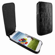 Piel Frama 618 iMagnum Black Crocodile Leather Case for Samsung Galaxy S4