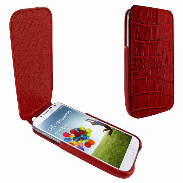 Piel Frama 618 iMagnum Red Crocodile Leather Case for Samsung Galaxy S4