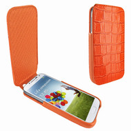 Piel Frama 618 iMagnum Orange Crocodile Leather Case for Samsung Galaxy S4