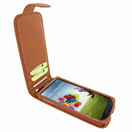 Piel Frama 620 Tan Magnetic Leather Case for Samsung Galaxy S4