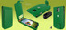 Piel Frama 620 Green Magnetic Leather Case for Samsung Galaxy S4