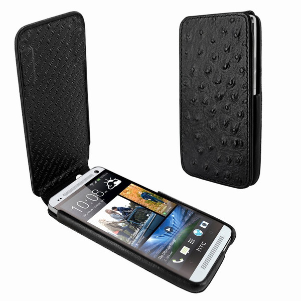 Piel Frama 616 iMagnum Black Ostrich Leather Case for HTC One