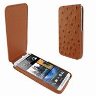 Piel Frama 616 iMagnum Tan Ostrich Leather Case for HTC One