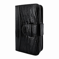 Piel Frama 622 Black Lizard Leather Wallet for Samsung Galaxy S4