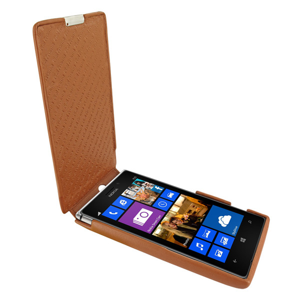 Piel Frama 627 iMagnum Tan Leather Case for Nokia Lumia 925