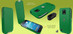 Piel Frama 632 iMagnum Green Leather Case for Samsung Galaxy S4 Mini