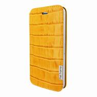 Piel Frama 639 Yellow Crocodile FramaSlim Leather Case for Apple iPhone 5 / 5S / SE
