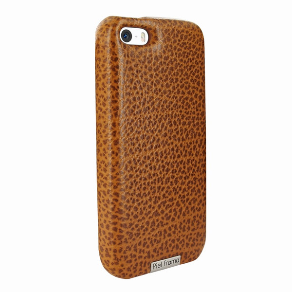Piel Frama 603 Tan Karabu FramaGrip Leather Case for Apple iPhone 5 / 5S / SE