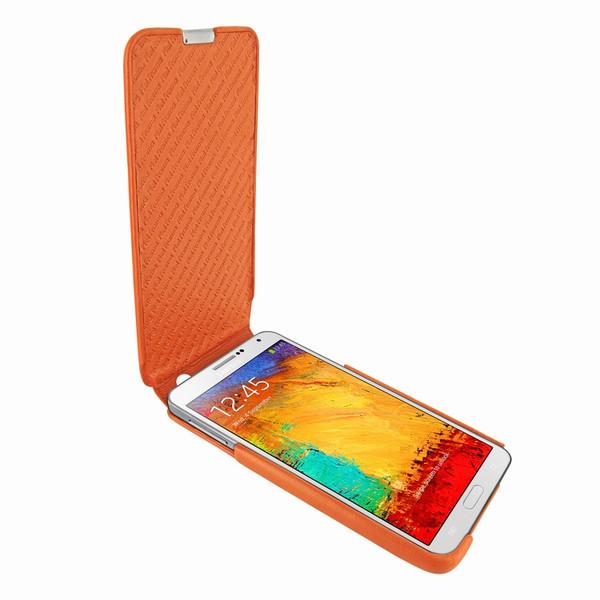 Piel Frama 641 iMagnum Orange Leather Case for Samsung Galaxy Note 3