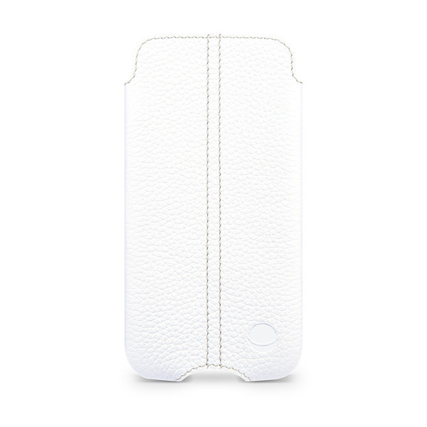 Beyza White ZERO Leather Case for Apple iPhone 5C