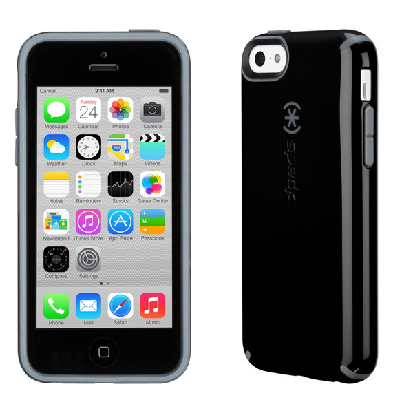 Speck Black / Grey CandyShell Case for Apple iPhone 5C