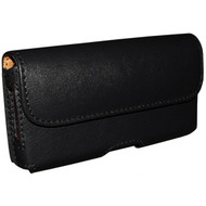 Piel Frama 986 Black Leather Horizontal Pouch for all Apple iPhone models