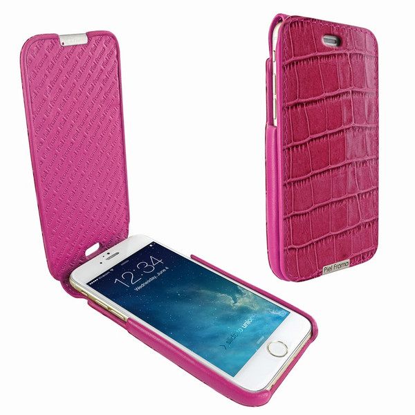 Piel Frama 676 iMagnum Pink Crocodile Leather Case for Apple iPhone 6