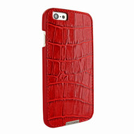 Piel Frama 683 Red Crocodile FramaGrip Leather Case for Apple iPhone 6 4.7