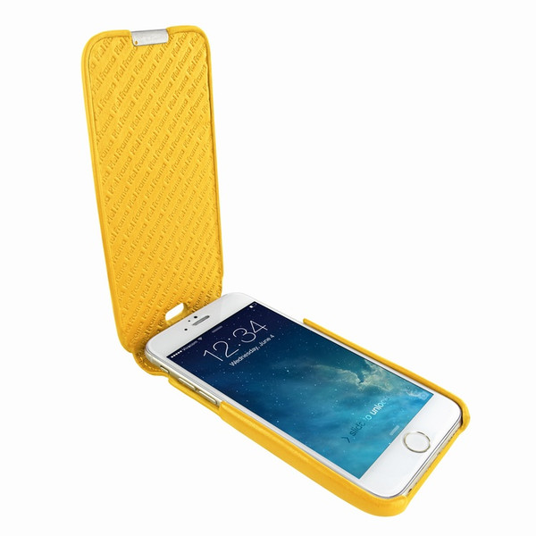 Piel Frama 685 iMagnum Yellow Leather Case for Apple iPhone 6 Plus