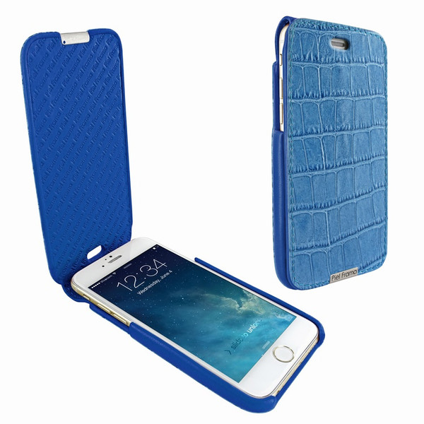 Piel Frama 685 Blue Crocodile iMagnum Leather Case for Apple iPhone 6 Plus / 6S Plus / 7 Plus