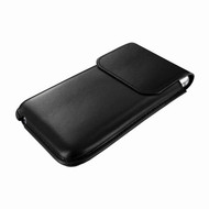 Piel Frama 692 Black Leather Slim Pouch for Apple iPhone 6 Plus